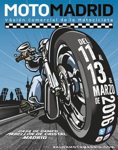 Air Custom Paint ha sido invitado al MotoMadrid los próximos días 11, 12 y 13 de marzo de 2016 por los Mechanics Custom Club. Allí nos vemos!!