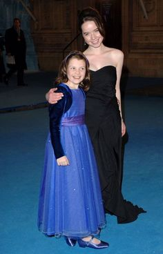 Dinner Gowns, Evening Gowns, London 2005, Narnia Prince Caspian, Narnia Cast, Narnia Movies, Anna Popplewell, Lucy Pevensie, Georgie Henley