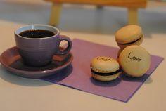 Vanilje macarons