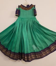For Price and Other details reach us at or Whatsapp: 9789903599 Address: Valmiki street, Thiruvanmyur, Chennai. Long Frocks For Kids, Indian Party Wear, Indian Wear, Anarkali Dress, Lehenga, Anarkali Suits, Sarees, Salwar Pattern, Kids Gown