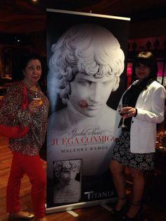 Presentación de 'Garden Manor. Juega conmigo' (Titania), de Malenka Ramos, el 21 de mayo de 2015 en la sala Alegoría de Madrid. Mayo, Madrid, Garden, Painting, Novels, Games, Libros, Garten, Lawn And Garden