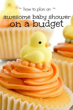 Plan an awesome baby shower on a budget #babyshower