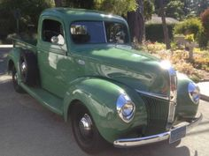 psychoactivelectricity:    1940 Ford Pick-Up