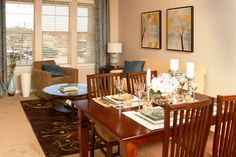 Talavera at the Junction Apartment Homes Dining Area