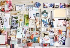 create an inspiration board...especially, when your career is not in a creative field.