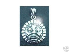 Native Indian Haida Silver Pendant Charm Jewelry Sterling Silver 925 Jewelry
