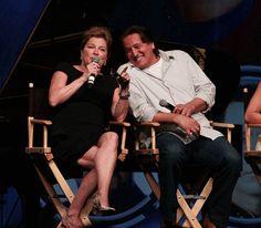 Robert Beltran e Kate Mulgrew - ST de Convenções de Las Vegas 2012 - Janeway-Chakotay Foto