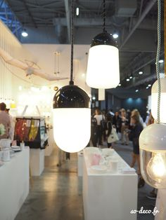 lampe-gland / www.zangra.com Lamps, Porcelain, Ceiling Lights, Lighting, Black, Home Decor, Lightbulbs, Porcelain Ceramics, Decoration Home