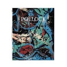 Jackson Pollock Coffee Table Book | dotandbo.com