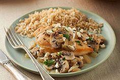 Mediterranean Chicken & Mushroom Skillet