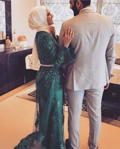 They're so happy .. May Allah bless us with our soulmate & be happy with them