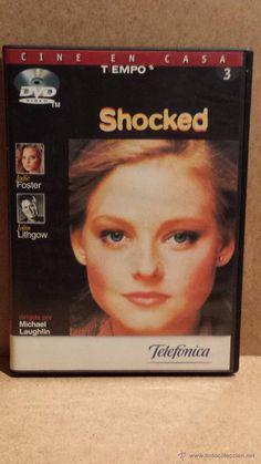 SHOCKED. JODIE FOSTER / JOHN LITHGOW - DVD DE LUJO.