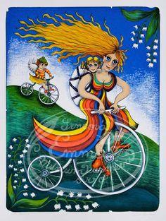 by Emma Srncova pieces) Princess Peach, Disney Princess, Disney Characters, Fictional Characters, Illustration Art, Painting, Puzzle, Cool Art, Creativity