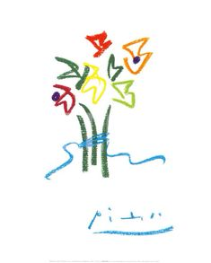 Pablo Picasso, Evening Flowers on ArtStack #pablo-picasso #art