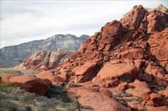 Red Rock Canyon, Nevada. You can see the Strip from here. That would be my preferred view of the Strip.