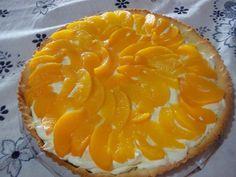 Receita de Torta gelada de pessego da Elzi.