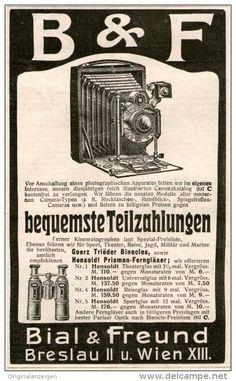 Original-Werbung/Inserat/ Anzeige 1907 : BIAL & FREUND KAMERAS - ca. 150 X 90 mm
