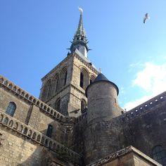 The Abbey on Le Mont Saint-Michel