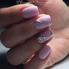 and Beautiful Nail Art Designs Elegant Nails, Stylish Nails, Beautiful Nail Designs, Beautiful Nail Art, Elegant Nail Designs, Fancy Nails, Bling Nails, Fabulous Nails, Gorgeous Nails
