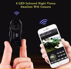 Spy Mini Camera Wifi 720P HD Infrared Night Vision Wireless Hidden Secret Cam Securtity Nanny Camara Brand IP Camcorder
