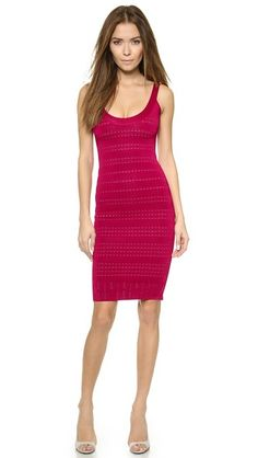 Herve Leger Lilykate Knit Dress