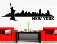 New York Skyline Wandtattoos Und Wanddeko Wandaufkleber.