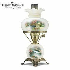 Thomas Kinkade - Garden Illuminations Lamp