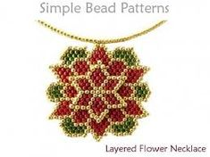 beaded Christmas ornaments - Google Search Christmas Tree Earrings, Beaded Christmas Ornaments, Christmas Holiday, Christmas Jewelry, Seed Bead Tutorials, Beading Tutorials, Beaded Jewelry Patterns, Beading Patterns, Bead Jewelry