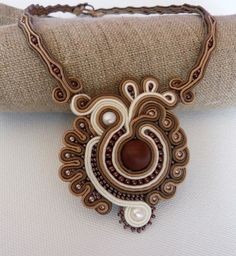SOUTACHE COLORFUL NECKLACE - Szukaj w Google
