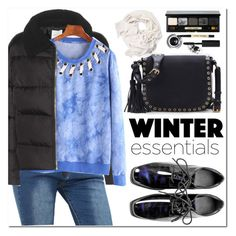 """""""Perfect Puffer Jackets"""" by oshint ❤ liked on Polyvore featuring Wood Wood and Bobbi Brown Cosmetics"""