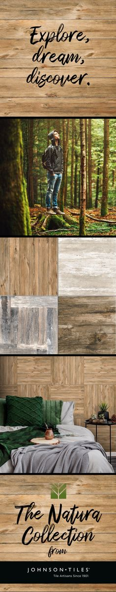 We are the leading manufacturers of glazed ceramic wall and floor tiles. Our tiles are designed to withstand wear and tear. Johnson Tiles, Wood Look Tile, Wall And Floor Tiles, Glazed Ceramic, Real Wood, Mother Nature, Invite, Living Spaces, Explore