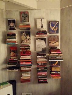 AmazonSmile - Umbra Conceal Floating Book Shelf, Large, Silver - Floating Shelves