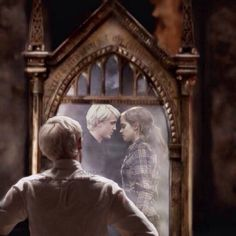 I'm team ronmione but I've always loved that Rowling had Draco feel something for her