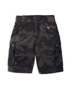 Ralph Lauren Childrenswear Boys' Cargo Shorts - Sizes 2-7