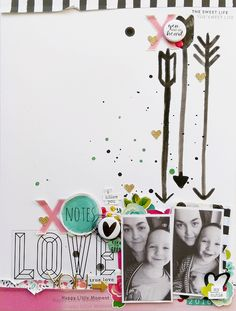 XO Notes by Jana McCarthy (FYC Love Bugs mini flair)