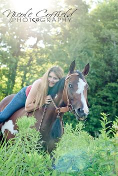 horse and owner photography - western country equine pose with sunflare