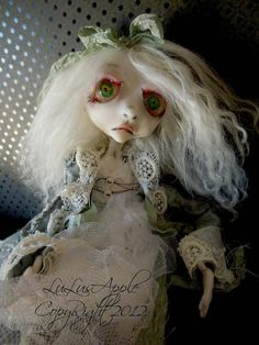 Victorian Gothic ghost Art Doll Photographic Giclee by LuLusApple, $25.00