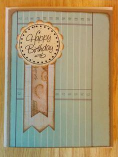 Award Winning Birthday Card by Cindysnoopy on Etsy, $3.50