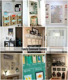 Family Command Centers