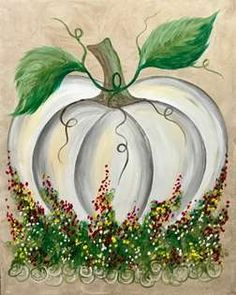 This fall pumpkin that sits in a bed of colorful flowers is so fun to paint. This fall pumpkin that sits in a bed of colorful flowers is so fun to paint. Fall Canvas Painting, Autumn Painting, Autumn Art, Diy Painting, Canvas Art, Pumpkin Painting, Fall Flowers, Colorful Flowers, Pumkin Decoration