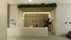 Lobby de MYX condos Condos, Architecture, Room, Furniture, Home Decor, Spaces, Arquitetura, Bedroom, Decoration Home