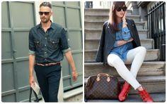 Tendencias Jeans 2013/2014 - Camisa vaquera