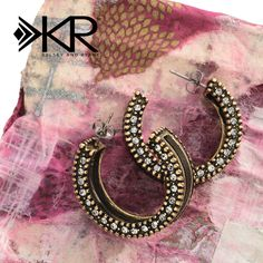 #BeConfident when you don these Leather Together Earrings from the K & R Collection. #Silpada