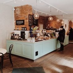 Foto 169 of 187 for Cafe Pascal - Stockholm Bakery Shop Interior, Coffee Shop Interior Design, Restaurant Interior Design, Cozy Coffee Shop, Small Coffee Shop, Coffee Cafe, Café Design, Deco Cafe, Cafe Shop Design