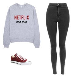 """Untitled #529"" by danieledepaula on Polyvore featuring Converse"