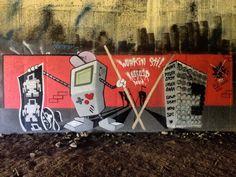 On instagram by bloozboy #gameboy #microhobbit (o) http://ift.tt/1Z8aJJI #Graffiti #StreetArt #LoveBot #GraffitiArt #TDot #GraffitiIgers #Alleyway #TorontoGraff #PublicArt #GraffitiPorn #Gameboy #StreetsOfToronto #InstaGraff #YYZ #WallPorn #SprayArt #LoveToronto #StreetArtEverywhere #Mural #AerosolArt #InstaGraffiti #416 #UrbanArt #City #Toronto #Ontario #Canada