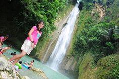 Mantayupan falls, Cebu, Philippines :)