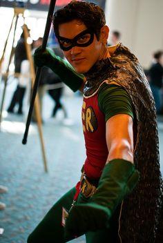 Robin by sdoorly, Comic-Con International: San Diego 2010, via Flickr
