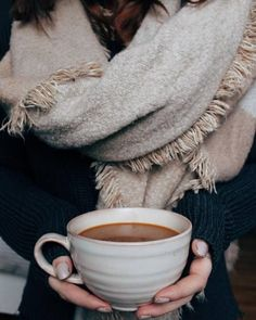 Scarves & Hot Drinks