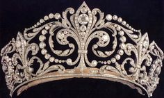 """The Fleur de Lys Tiara of Spain 